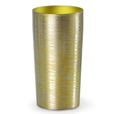 画像1: 二重チタンタンブラー 白樺(大)ゴールド 【日本製】金属タンブラー ホリエ HORIE 父の日ギフト 酒器 CR-S5349619