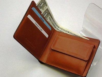 画像1: コードバン二つ折り財布 チョコ/キャメル 日本製 SUNAMURA 父の日 メンズ CR-S5679356