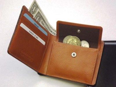 画像2: コードバン二つ折り財布 チョコ/キャメル 日本製 SUNAMURA 父の日 メンズ CR-S5679356
