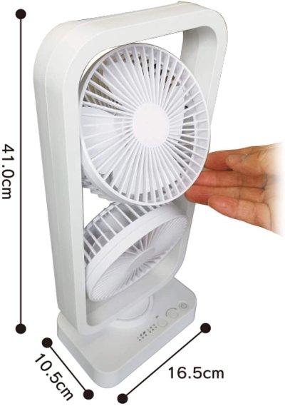 画像3: ツインスイングファン 熱中症対策 CR-S8110659