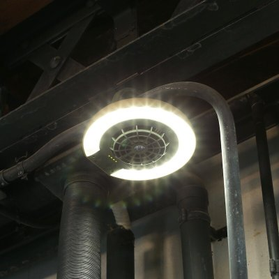 画像1: 【DULTON ダルトン】'DOUGLAS'' FAN AND LIGHT 簡易照明 扇風機 熱中症対策 CR-S6532296