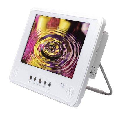 画像1: 9インチ液晶フルセグ防水DVDプレーヤー ホワイト CR-S8101086