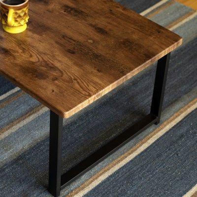 画像2: 【定価より50%OFF!】センターテーブル Lingle 90×45 BR/NA/OAK 家具 机 CR-S6443068