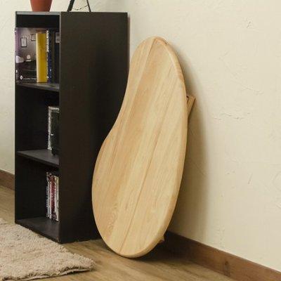 画像2: 【定価より50%OFF!】天然木ビーンズテーブル NA/WW 家具 テーブル CR-S7203842