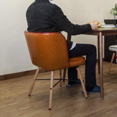 画像3: 【定価より50%OFF!】Donovanダイニングチェア(1脚) 全4色 家具 椅子 CR-S5799669